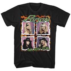 Poison - Mens Poison Squares T-Shirt