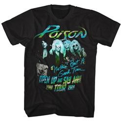 Poison - Mens Tour Shirt T-Shirt