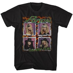 Poison - Mens Dist. Tour Shirt T-Shirt