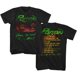 Poison - Mens Open Up T-Shirt