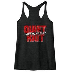 Quiet Riot - Womens Quietriot Raw Edge Racerback Tank