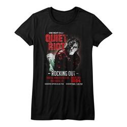 Quiet Riot - Juniors Rockingout T-Shirt