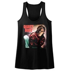 Quiet Riot - Womens Album Raw Edge Racerback Tank