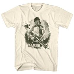 Rambo - Mens Watercolor T-Shirt