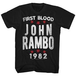 Rambo - Mens Stars T-Shirt