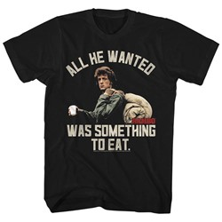 Rambo - Mens Something To Eat T-Shirt