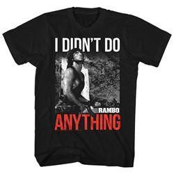 Rambo - Mens Do 2 T-Shirt