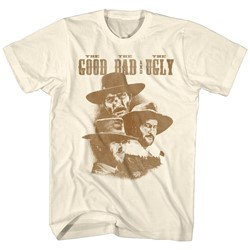 Clint Eastwood - Mens The Good The Bad And The Ugly T-Shirt