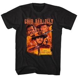 Clint Eastwood - Mens Color Good Bad Ugly T-Shirt