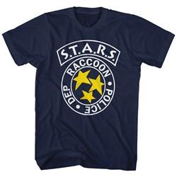 Resident Evil - Mens Rpd Stars T-Shirt
