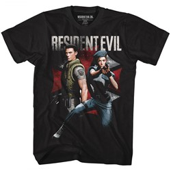 Resident Evil - Mens Chrisandjill T-Shirt