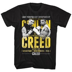 Rocky - Mens Conlan Vs Creed T-Shirt