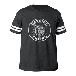 Saved By The Bell - Mens Bayside Tigers Football T-Shirt