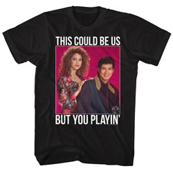 Saved By The Bell - Mens Playin Dots T-Shirt