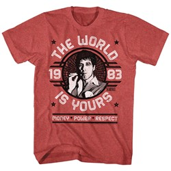 Scarface - Mens World Is Yours Emblem T-Shirt