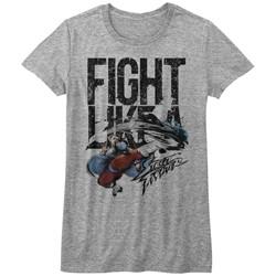 Street Fighter - Juniors Fight Like A T-Shirt