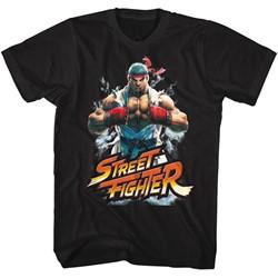 Street Fighter - Mens Fistbump T-Shirt