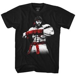 Street Fighter - Mens Hot Ryu2 T-Shirt