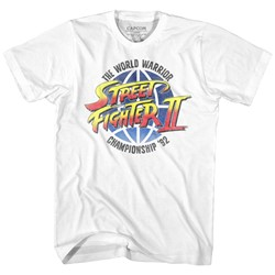 Street Fighter - Mens World Warrior T-Shirt