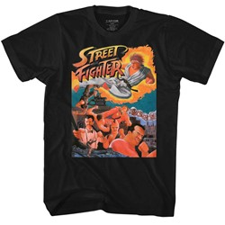 Street Fighter - Mens Awesome T-Shirt
