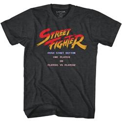 Street Fighter - Mens Start Screen T-Shirt