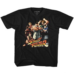 Street Fighter - Youth Cool Kids T-Shirt