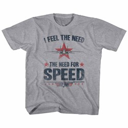 Top Gun - Youth Needing Speed T-Shirt