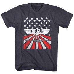 Top Gun - Mens Stars & Stripes T-Shirt