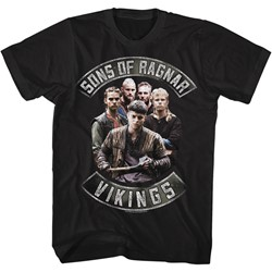 Vikings - Mens Sons Of Ragnar T-Shirt