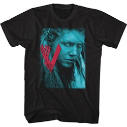 Vikings - Mens Lagertha Closeup T-Shirt
