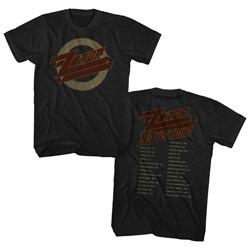 Zz Top - Mens 1990 Us Tour T-Shirt