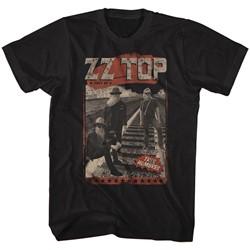 Zz Top - Mens Hombres Track T-Shirt