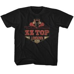 Zz Top - Youth Lowdown T-Shirt