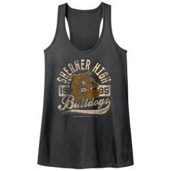 Breakfast Club - Womens Bulldogs Heather Racerback Tank