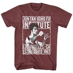 Bruce Lee - Mens Institute2 T-Shirt