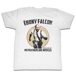 Brooklyn Nine Nine - Mens Ebony Falcon T-Shirt