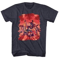 Bill And Ted - Mens Shadows T-Shirt
