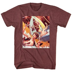 Bill And Ted - Mens Water Slide T-Shirt