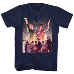 Bill And Ted - Mens Sparkle T-Shirt