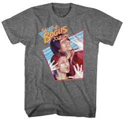 Bill And Ted - Mens Bogus Rhombus W/ Texture T-Shirt