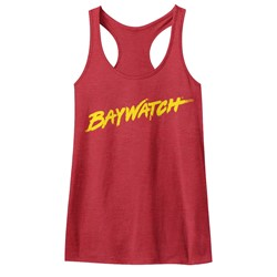 Baywatch - Womens Logo Tank Racerback Tank Top