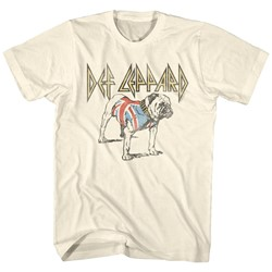 Def Leppard - Mens Bulldog T-Shirt