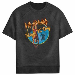 Def Leppard - Mens High N Dry Sweatshirt