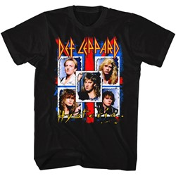 Def Leppard - Mens Ugly Hysteria T-Shirt