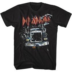 Def Leppard - Mens Onthroughtheglass T-Shirt