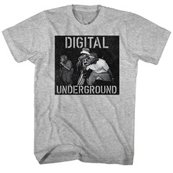Digital Underground - Mens Mic On Stage T-Shirt