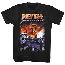 Digital Underground - Mens Bootleg T-Shirt