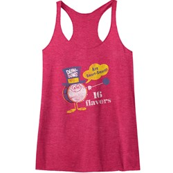 Dum Dums - Womens Smart-Smart Raw Edge Racerback Tank