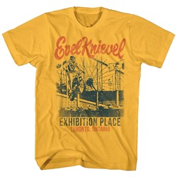 Evel Knievel - Mens Exhibition Place T-Shirt