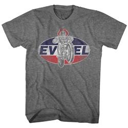 Evel Knievel - Mens Logo 2 T-Shirt